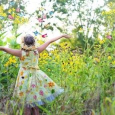 Creating a Butterfly Garden with your Children